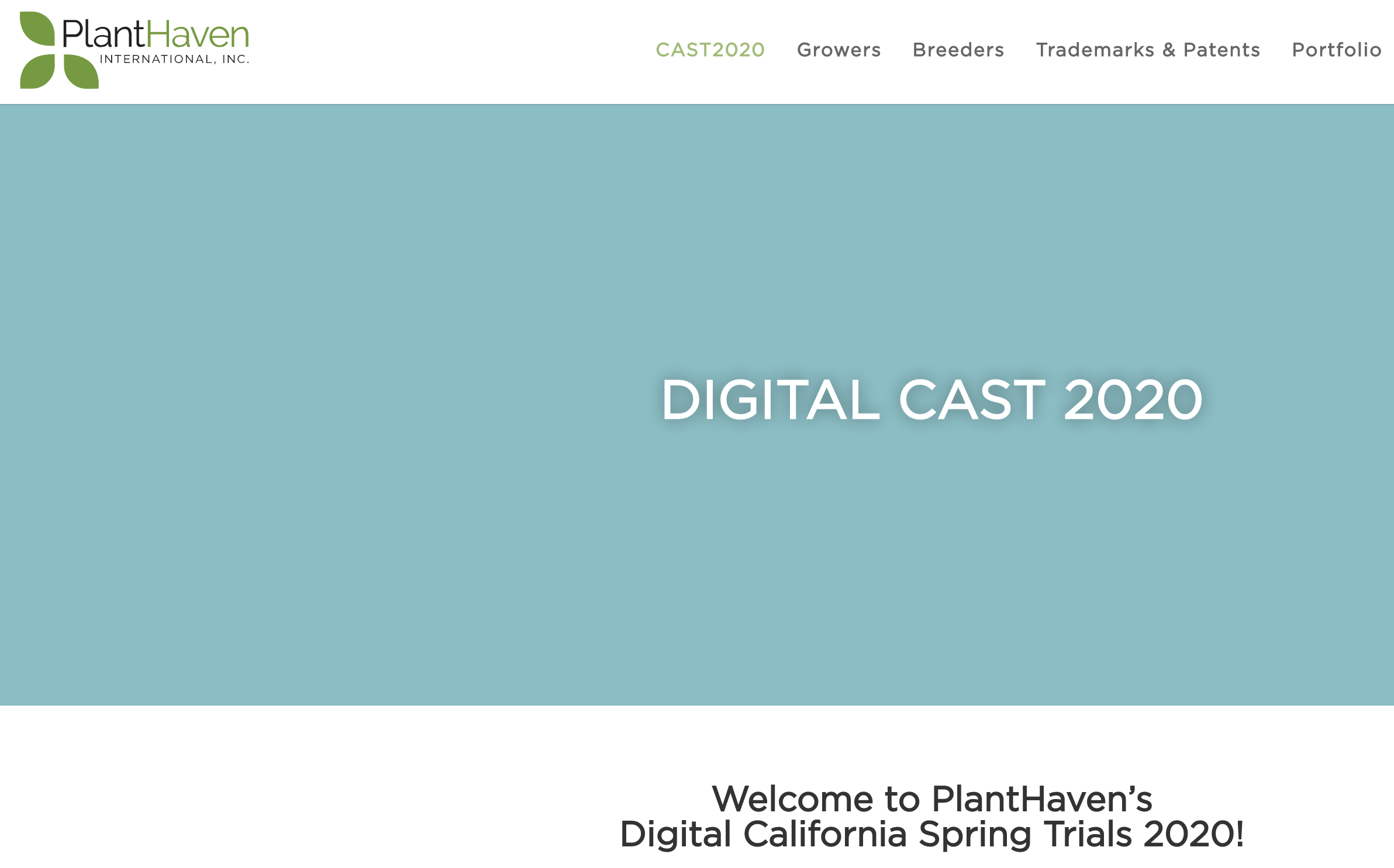 PlanHaven Digital Cast 2020